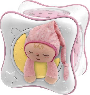 """Ночник Chicco Куб """"Радуга"""" (розовый) - общий вид"""