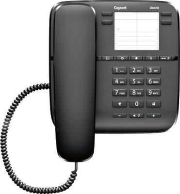 Проводной телефон Gigaset DA410 (Black) - общий вид