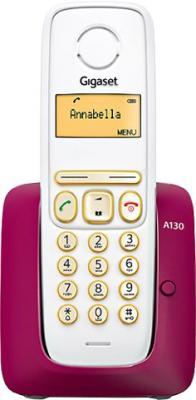 Беспроводной телефон Gigaset A130 (Bordeaux) - общий вид