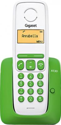 Беспроводной телефон Gigaset A130 (Green) - общий вид