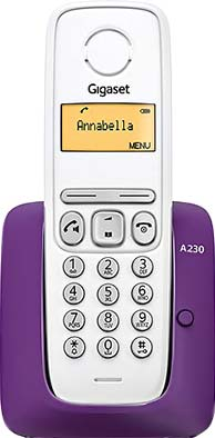 Беспроводной телефон Gigaset A230 (Purple) - общий вид