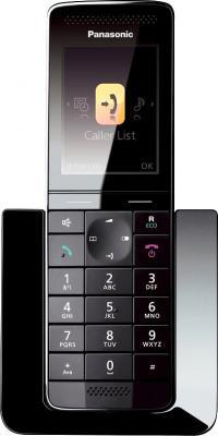 Беспроводной телефон Panasonic KX-PRS110 (белый) - фронтальный вид