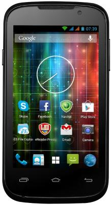 Смартфон Prestigio Multiphone 3400 Duo (Black) - общий вид