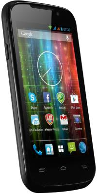 Смартфон Prestigio Multiphone 3400 Duo (Black) - вид сбоку