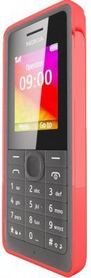 Мобильный телефон Nokia 106 (Red) - вид сбоку
