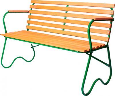 Скамья садовая Метлес - 1 000091 - общий вид