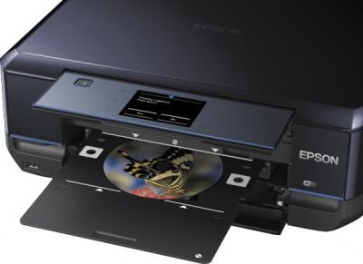 МФУ Epson Expression Premium XP-710 - печать на CD