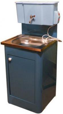 Умывальник для дачи с подогревом Метлес - 1 Водолей 000107 (кран шаровый) - общий вид