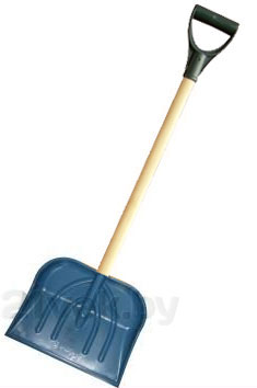 Лопата для уборки снега Заря 000065 - общий вид