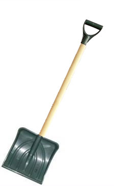 Лопата для уборки снега Заря 000068 - общий вид