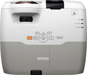 Проектор Epson EB-431i - вид сверху