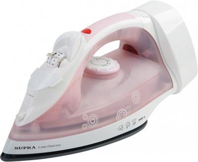 Утюг Supra IS-0800 (White-Pink) - общий вид