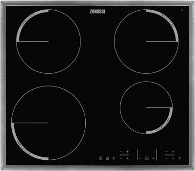 Индукционная варочная панель Zanussi ZEI56640XB - общий вид