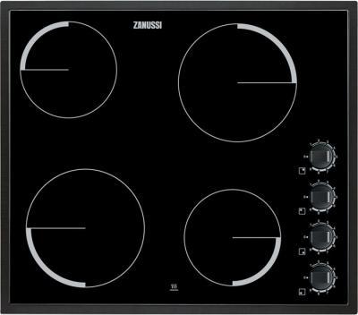 Индукционная варочная панель Zanussi ZEV6140NBA - общий вид