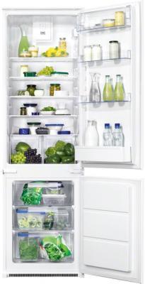 Холодильник с морозильником Zanussi ZBB928465S - общий вид