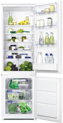 Холодильник с морозильником Zanussi ZBB928441S - внутренний вид