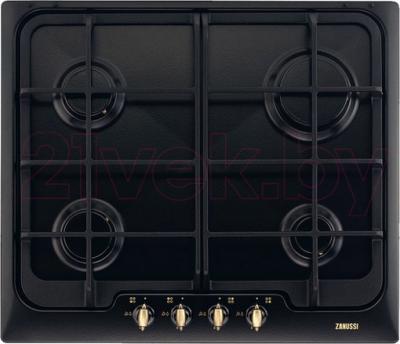 Газовая варочная панель Zanussi ZGG65414CA - общий вид