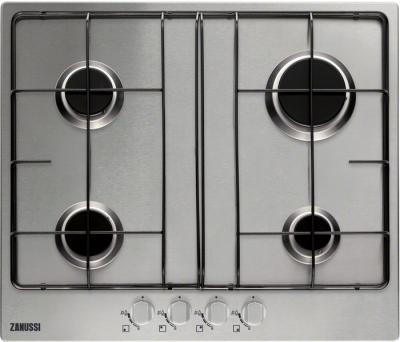 Газовая варочная панель Zanussi ZGG65414SA - общий вид