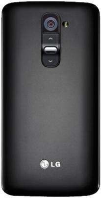Смартфон LG G2 16Gb / D802 (черный) - задняя панель
