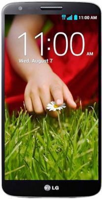 Смартфон LG G2 16Gb / D802 (черный) - общий вид