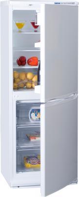 Холодильник с морозильником ATLANT ХМ 4010-100 - полуоткрытый вид