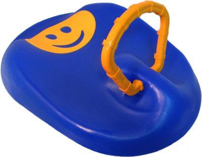 Санки детские Пластик Пл-С286 (синие) - общий вид