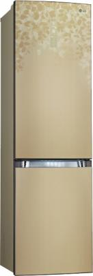 Холодильник с морозильником LG GA-B489TGLC - общий вид