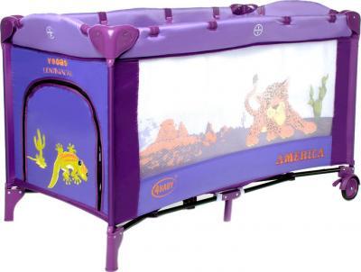 Кровать-манеж 4Baby Vegas (America) - общий вид