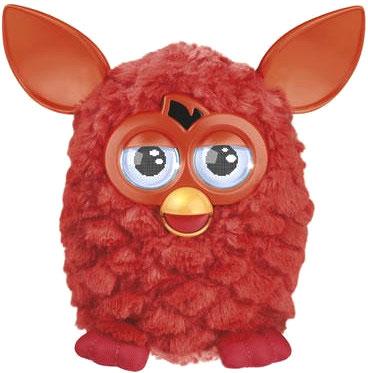 """Интерактивная игрушка Hasbro """"Furby"""" Теплая волна (красная) - общий вид"""