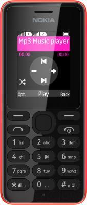 Мобильный телефон Nokia 108 Dual (красный)