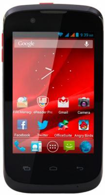 Смартфон Prestigio MultiPhone 3540 DUO (Black) - общий вид