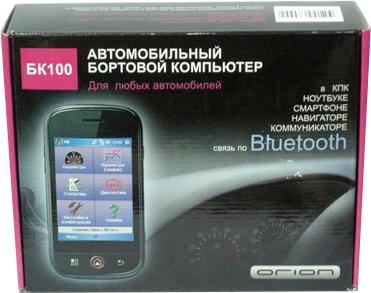 Бортовой компьютер Орион БК-100 - общий вид