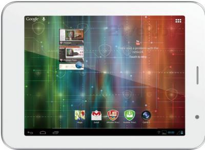 Планшет Prestigio MultiPad 4 Ultimate 8.0 16GB 3G (PMP7480D3G_QUAD) - фронтальный вид
