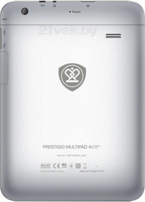 Планшет Prestigio MultiPad 4 Ultimate 8.0 16GB 3G (PMP7480D3G_QUAD) - вид сзади