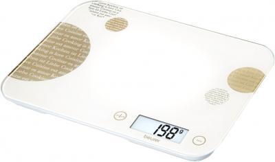Кухонные весы Beurer KS48 (Cream) - общий вид