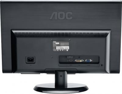 Монитор AOC E2350SHK - вид сзади