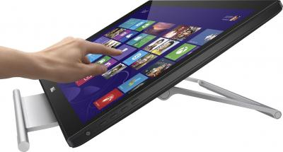 Монитор Dell S2240T - наклон экрана