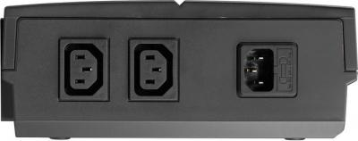 ИБП Mustek PowerMust 636 Offline - вид сзади