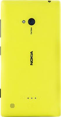 Смартфон Nokia Lumia 720 (Yellow) - задняя панель