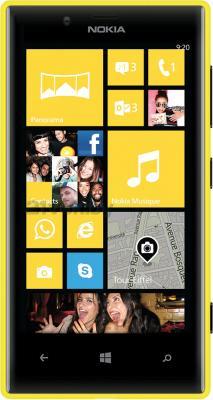 Смартфон Nokia Lumia 720 (Yellow) - общий вид