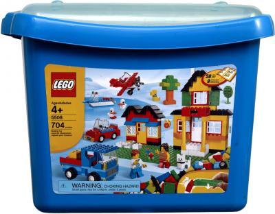 Конструктор Lego Bricks & More Коробка с кубиками (5508) - упаковка