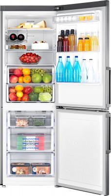 Холодильник с морозильником Samsung RB28FEJMDSA/RS - камеры хранения