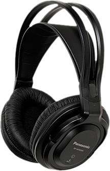 Наушники Panasonic RP-WF830WE-K (черный) - общий вид