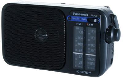 Радиоприемник Panasonic RF-2400EE9-K - общий вид