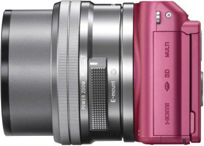 Зеркальный фотоаппарат Sony NEX-3NLP - вид сбоку