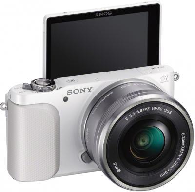 Беззеркальный фотоаппарат Sony NEX-3NLW - общий вид
