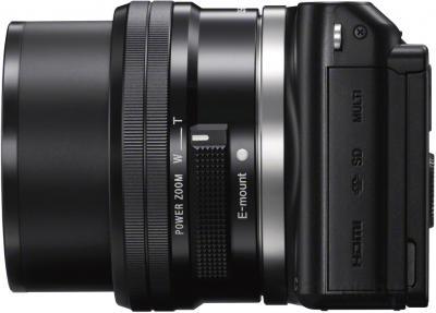 Беззеркальный фотоаппарат Sony NEX-3NYB - вид сбоку