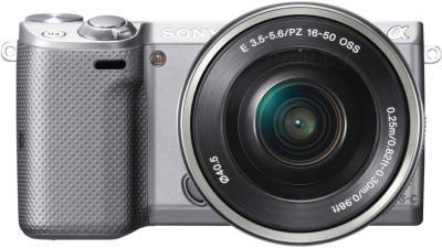 Беззеркальный фотоаппарат Sony NEX-5TLS - вид спереди