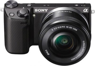 Беззеркальный фотоаппарат Sony NEX-5TYB - общий вид