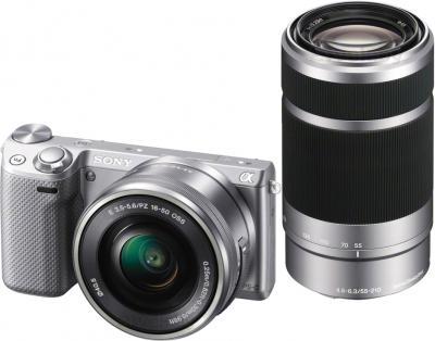 Беззеркальный фотоаппарат Sony NEX-5TYS - общий вид